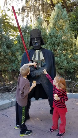 Messing with Vader's buttons
