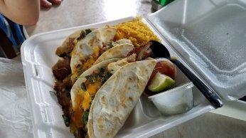 And fish tacos