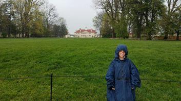 George Washington's mansion at Mount Vernon