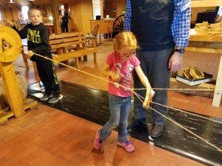 Making rope in Nauvoo