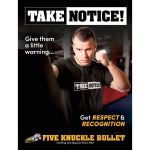 TAKE NOTICE! from FIVE KNUCKLE BULLET <br>Pullover Hoodie