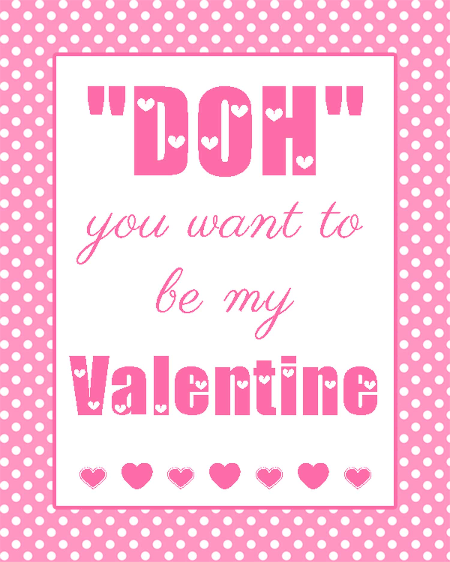 How Want Be My Valentine