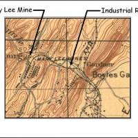 Lewsiburg Map