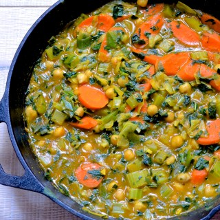 Vegan Curry in Five Minutes