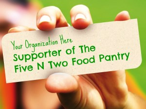partners of the five n two food pantry