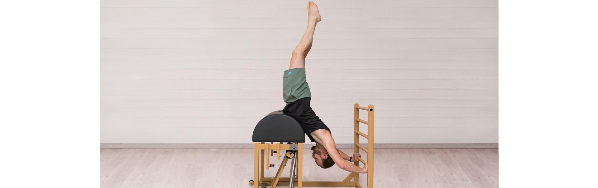 Entrenamiento de Pilates en Barril