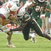 Canes Junior, Derrick Smith enters transfer portal.
