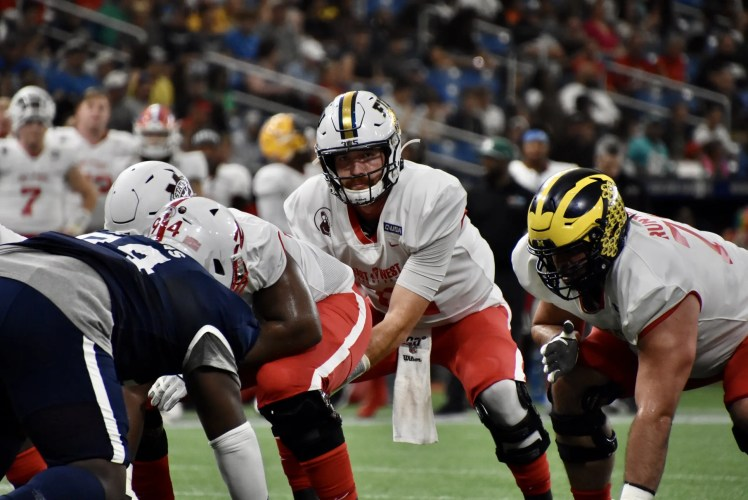 FIU Quarterback James Morgan shines in Shrine Bowl