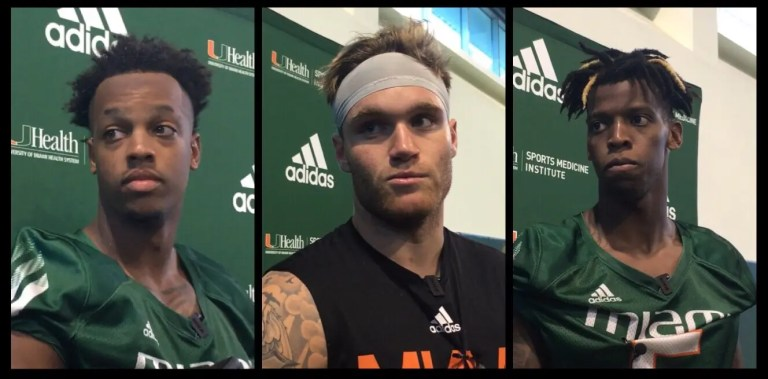 3 Canes QB's vying for the starting role.