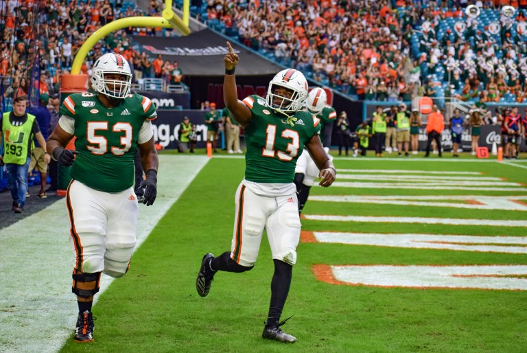 A Lucky Day 3: Four Canes selected in NFL Draft