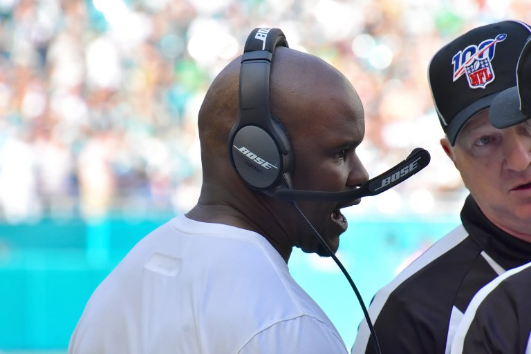 Coach Flores and players on the Miami Dolphins voice frustration following loss to Jets