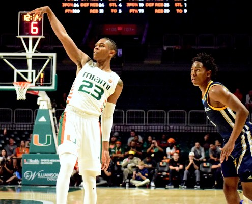 Kameron McGusty part of a growing trend in Miami Hurricanes basketball