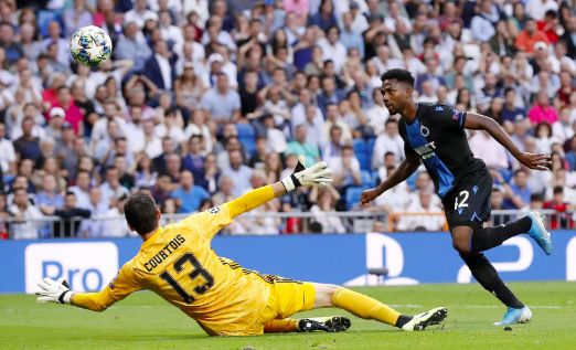 El Real Madrid sufre y rescata empate ante el Brujas de Bélgica en la Champions League