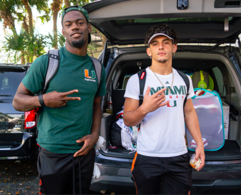 Canes welcome 13 early enrollees, expect big recruiting weekend
