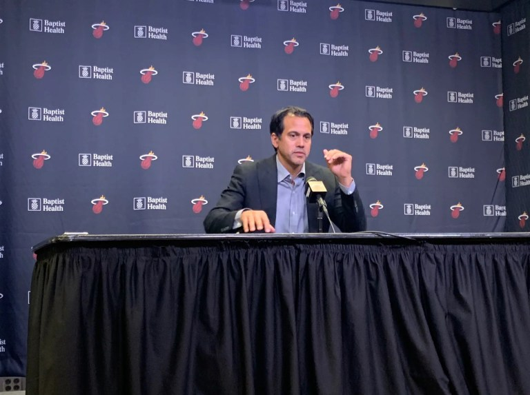 NBA GMs love Spoelstra, like Miami Heat a little