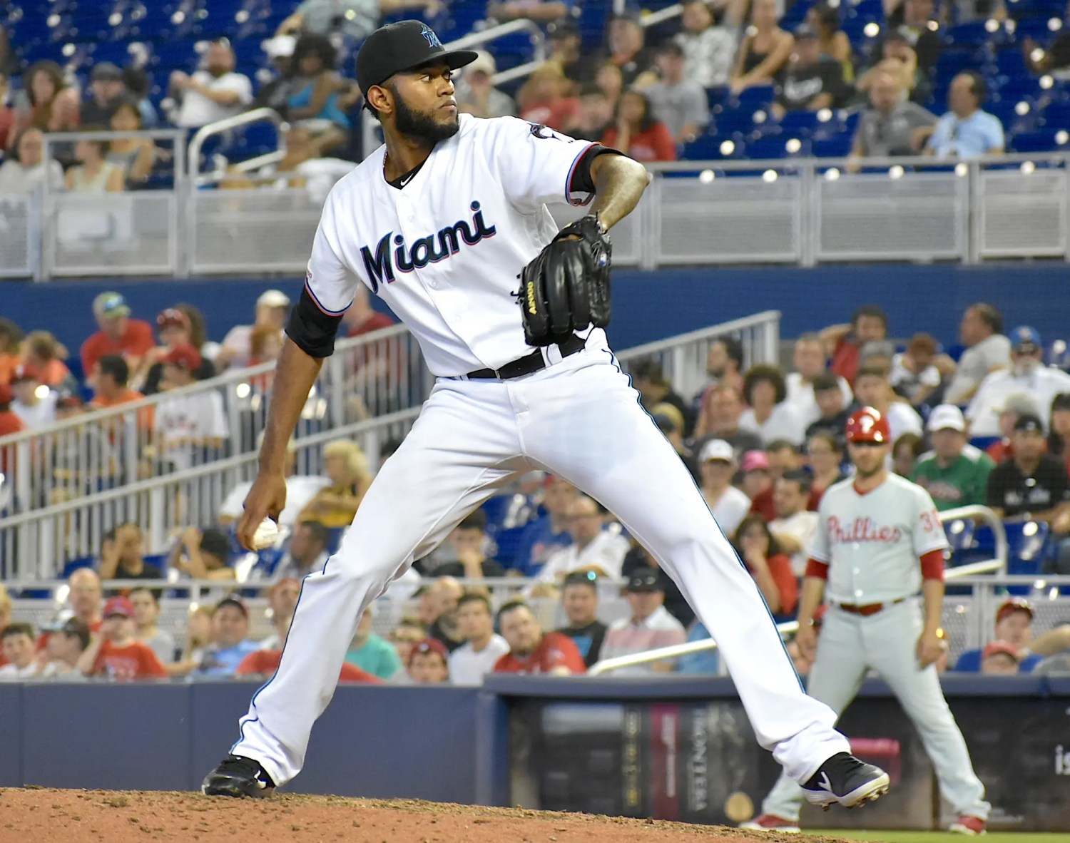 Marlins arms shine at times, but first month a struggle