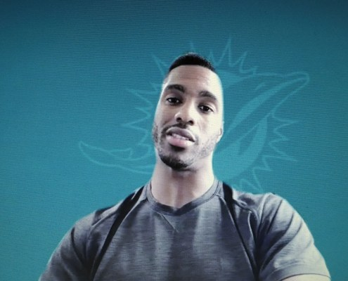 Cornerback Byron Jones became the highest-paid cornerback in the NFL when he signed with the Dolphins. (Craig Davis for Fivereasonssports.com)