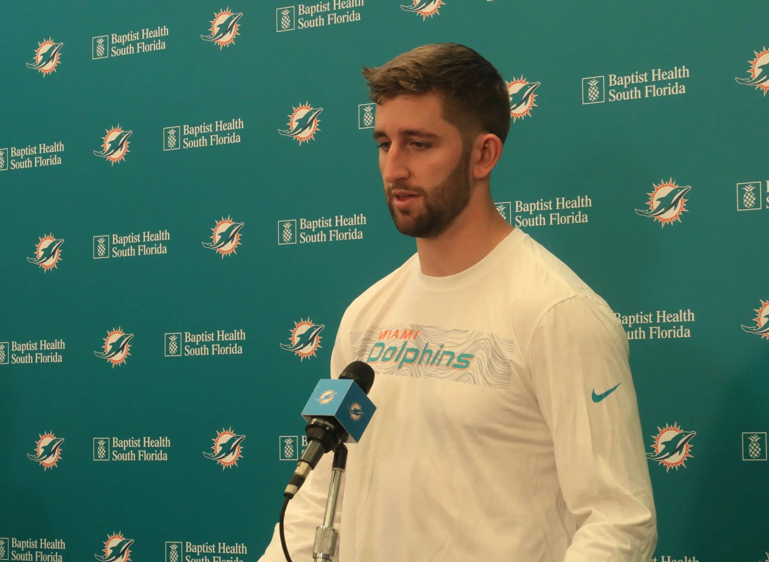 Josh Rosen acknowledges he has a lot to prove as he joins the Miami Dolphins. (Craig Davis photo)