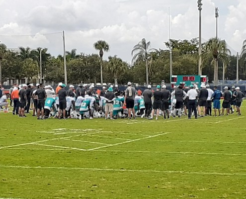 Miami Dolphins Camp Quickie Notes: Day 10