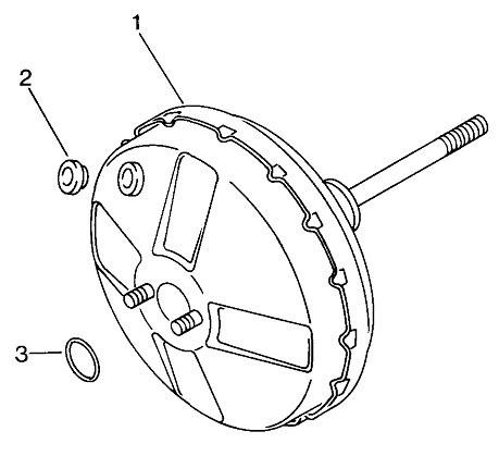Brake servo 183612107 VOLKSWAGEN MOD.181 / ILTIS 1986-_VW
