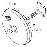 Nissan Brake booster_Power brake booster_Auto brake parts