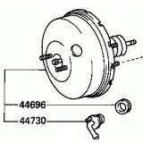 Toyota Power brake booster_Power brake booster_Auto brake