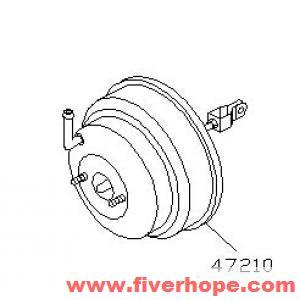 Power booster 47210-65Y00 47210-65Y01 47210-50Y00 47210