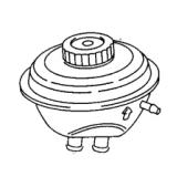 VW Audi brake booster_Power brake booster_Auto brake parts