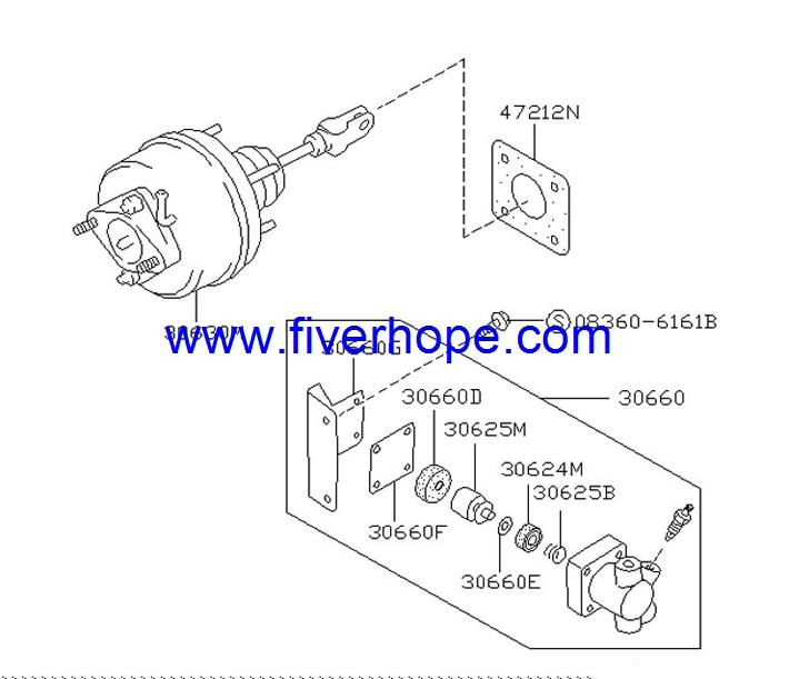 JKC 221-02032 Master VAC / Brake booster / Servo freno