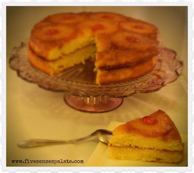 UpsideDown Pineapple Cake1