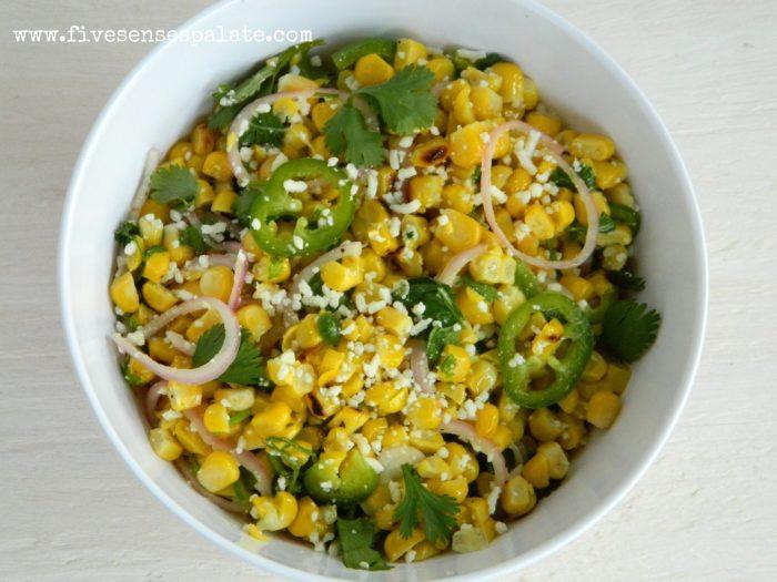 Grilled Corn Salad Recipe