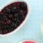 Panna Cotta and Blueberry Flambe Recipe