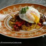 Roasted Delicata Squash with Chorizo Recipe | Five Senses Palate