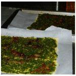 Chicken, Pesto & Caramelized Onions Tart Recipe | Five Senses Palate