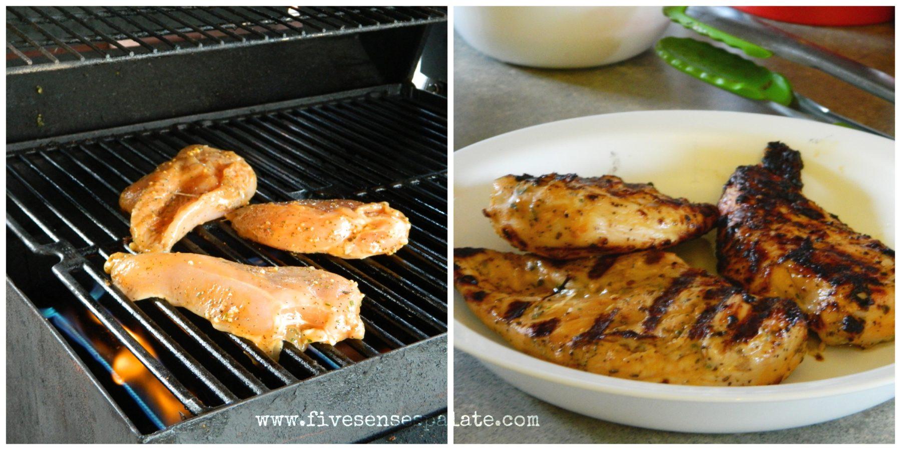 Chicken, Pesto & Caramelized Onions Tart - Five Senses ...