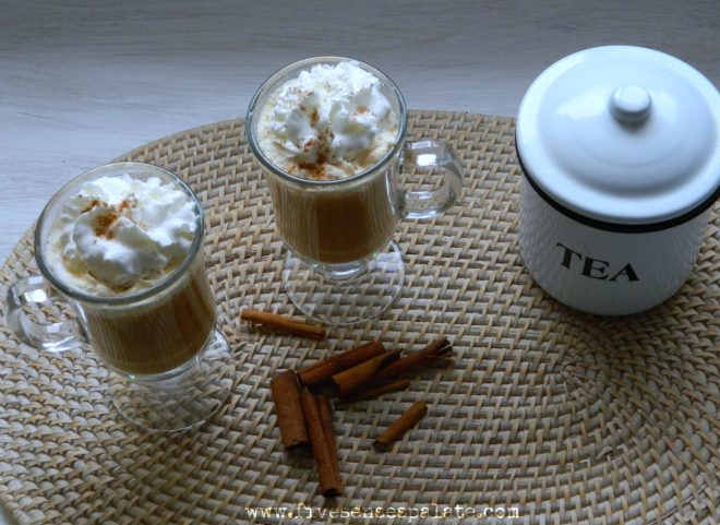 Homemade Chai Latte Recipe | Five Senses Palate