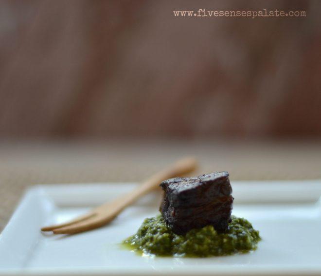 Cilantro Chutney Recipe | Five Senses Palate