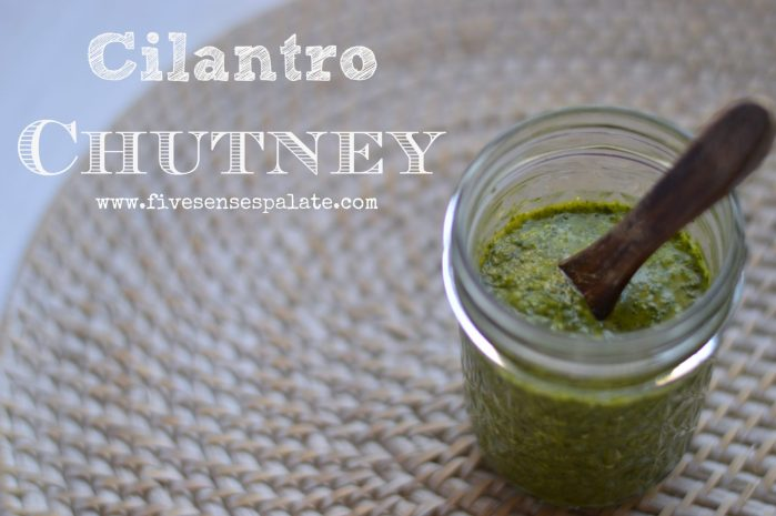 Cilantro Chutney Recipe   Five Senses Palate