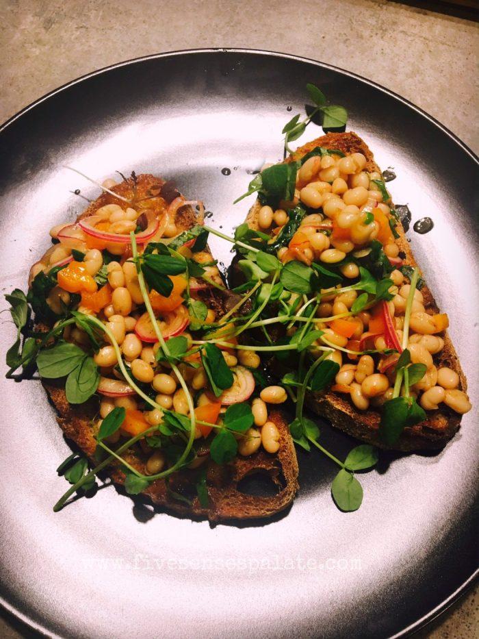 Beans on Toast recipe | Five Senses Palate