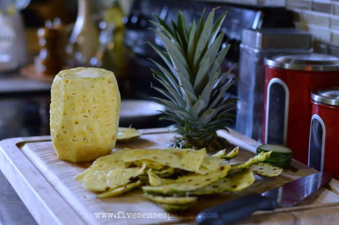 Pineapple Cucumber Orange Ginger Summer Juice Recipe | Five Senses Palate