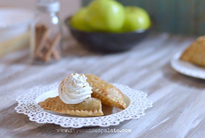 empanada de manzana - apple hand pie recipe   five senses palate