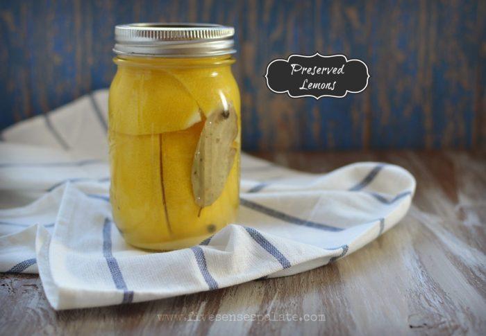 Preserved Lemon Recipe   Five Senses Palate