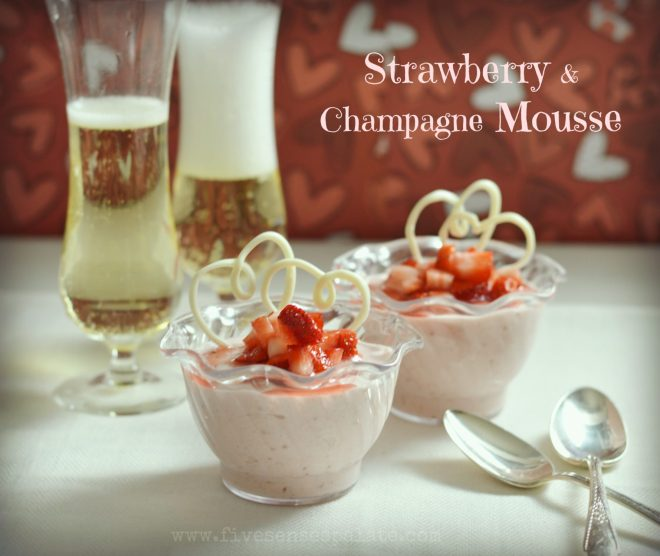 Strawberry and Champagne Mousse Recipe
