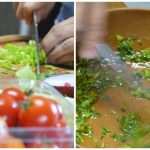 Tomato & Celery Salad with Cumin Recipe | Five Senses Palate