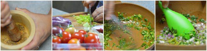 Tomato & Celery Salad with Cumin Recipe | Five Senses Palate