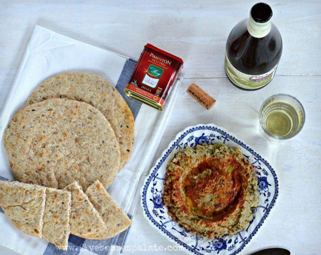 Smokey Eggpant Dip Recipe   Five Senses Palate