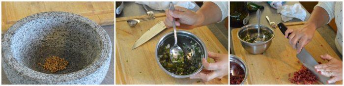 Beef Crudo with Black Radish | Five Senses Palate