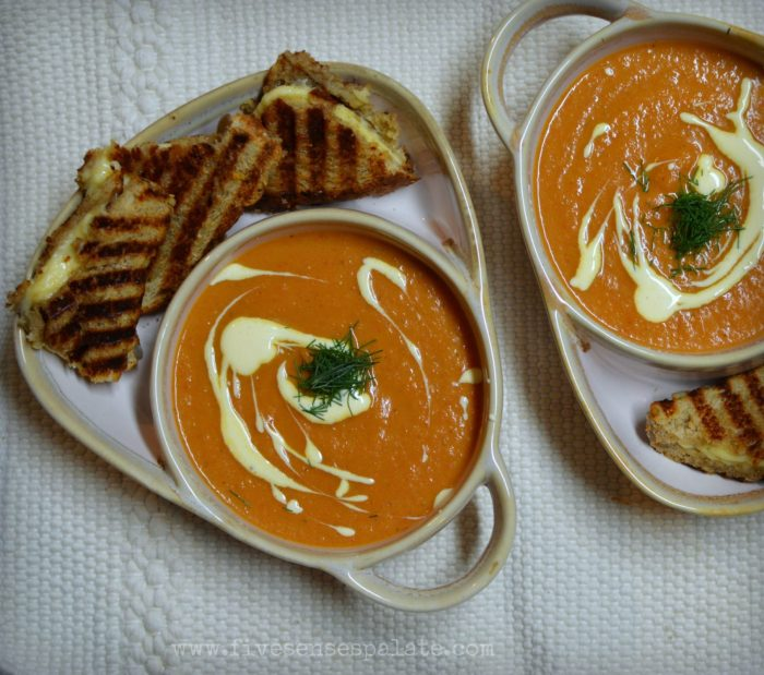 Roasted Tomato & Fennel Soup Recipe | Five Senses Palate