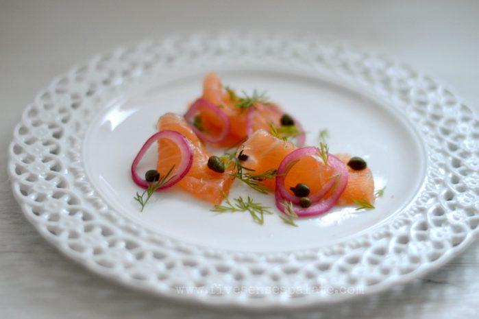 How to make salt cured salmon - Gravlax | Five Senses Palate