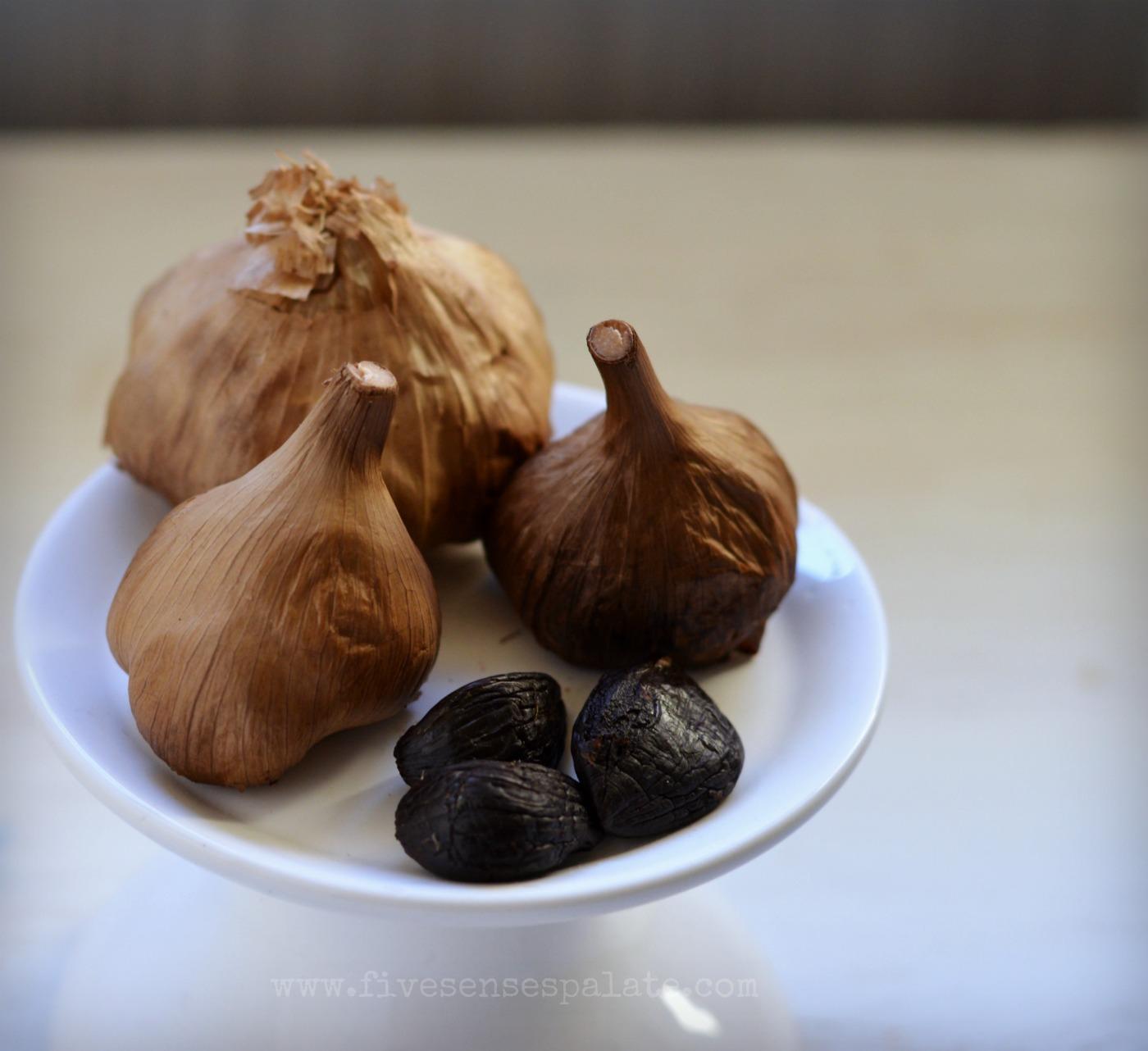 how to make black garlic aioli